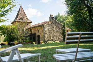 Vakantiehuis  - : Maison de vacances Villefranche du Perigord