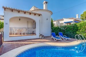 Vakantiehuis  - : Villa relax Eladio